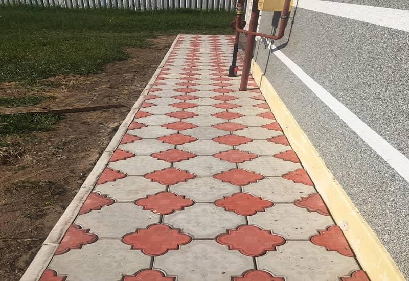 Как сделать дорожки из тротуарной плитки на даче